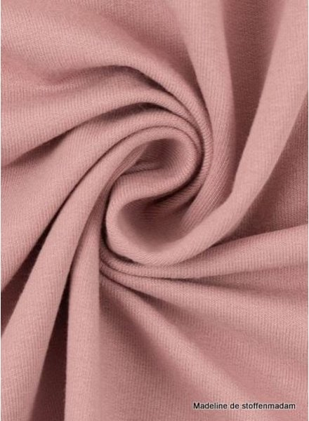 Swafing dusty pink - solid french terry - GOTS