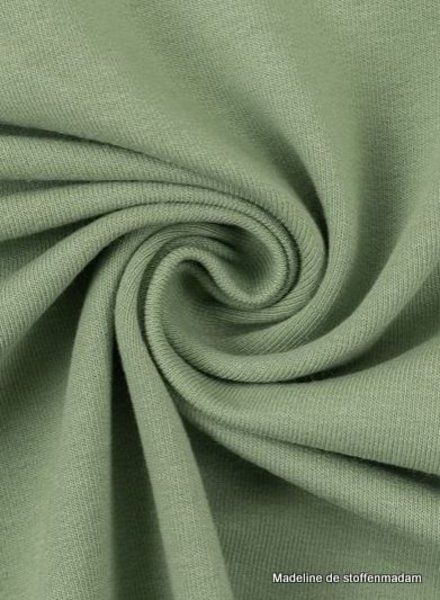 Swafing mint green - solid french terry - GOTS