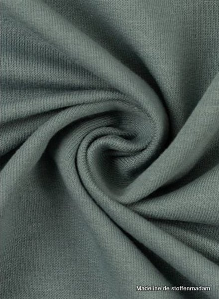 Swafing grey blue - solid french terry - GOTS