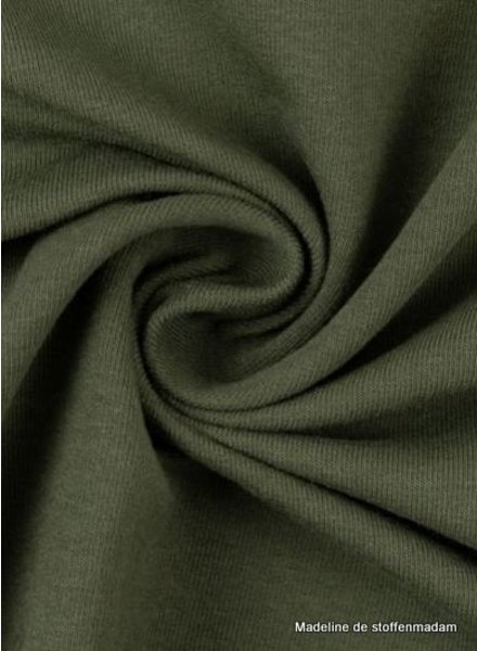 M khaki - cuff fabric - GOTS