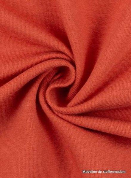 M coral - cuff fabric - GOTS