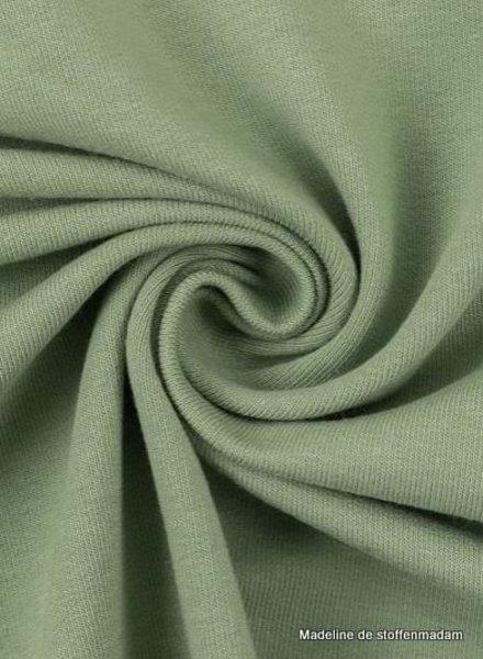 M mint green - cuff fabric - GOTS