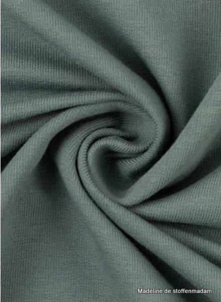 M grey blue - cuff fabric - GOTS