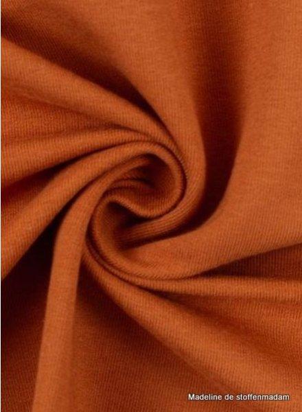 M rust - cuff fabric - GOTS