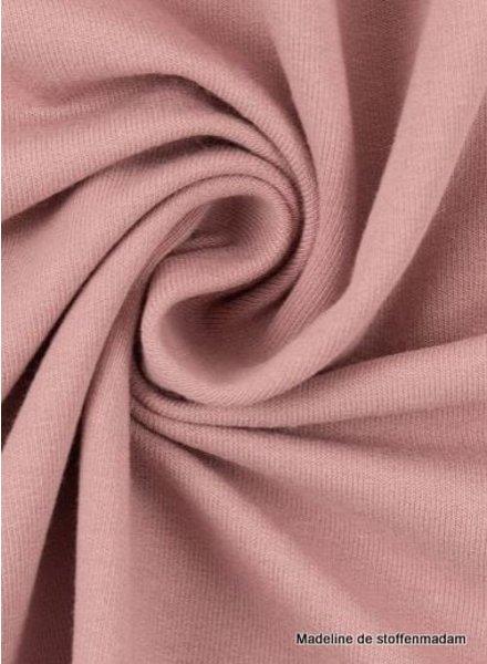 M dusty pink - cuff fabric - GOTS