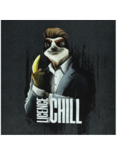 Swafing License to chill - Thorsten Berger - paneel van 80 cm - french terry