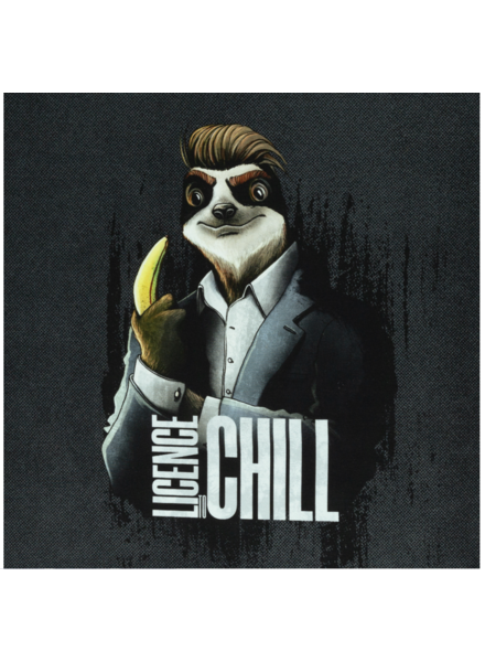 Swafing License to chill - Thorsten Berger - panel 80 cm - french terry