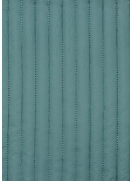 M mint - double face - matelassed fabric