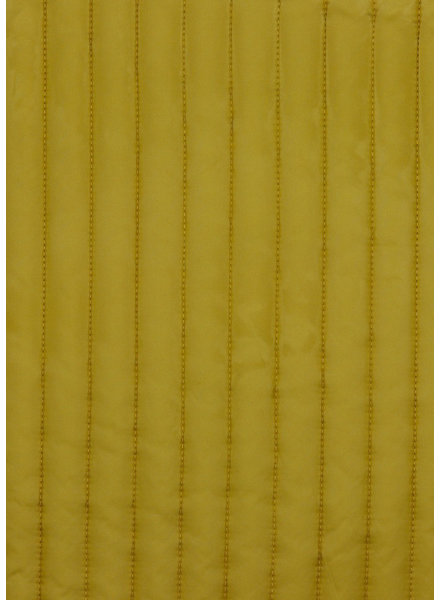 M ocre - double face - matelassed fabric