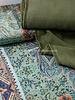 M cashmere print - satin fabric