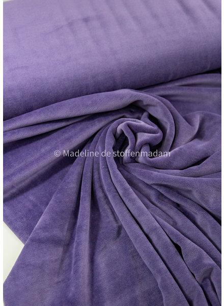 M dark lilac - nicky velours