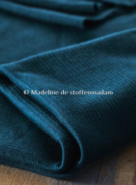 Mind The Maker organic woolen ottoman - ocean
