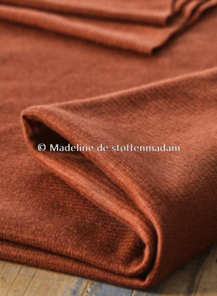 Mind The Maker organic woolen ottoman - sienna