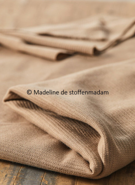 Mind The Maker organic woolen ottoman - dune