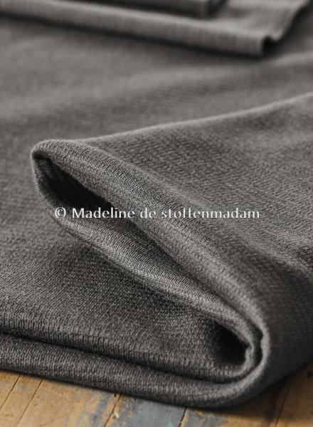 Mind The Maker organic woolen ottoman - calm grey