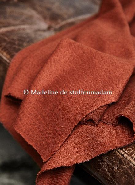 Mind The Maker organic woolen mold sweat - sienna