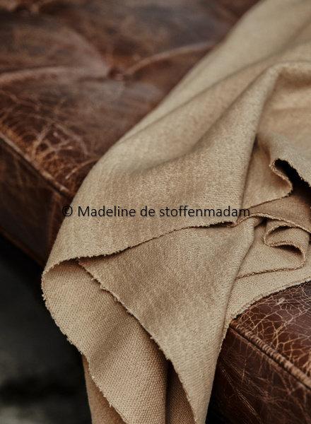 Mind The Maker organic woolen mold sweat - dune