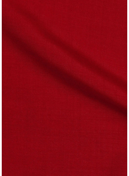 red - solid viscose