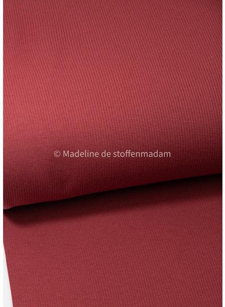 M marsala - ribbed knit