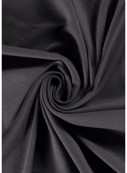 M antraciet - interlock knit