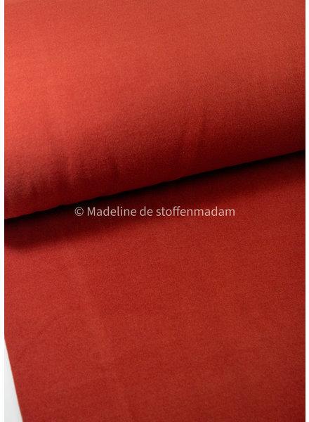 M rusty - soft coat fabric