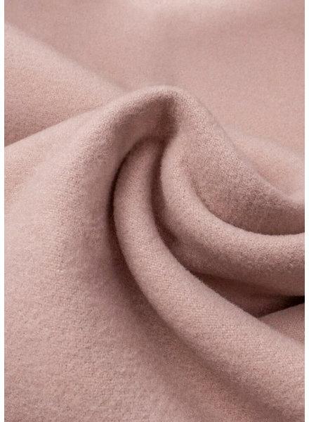 M dusty pink  - soft coat fabric