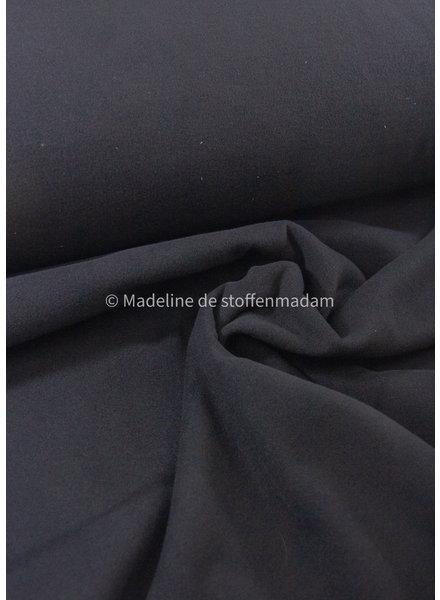 M black - soft coat fabric
