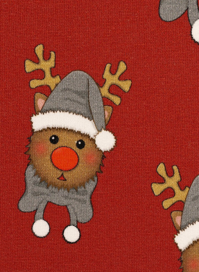 Swafing Rudolf red - Christmas - french terry