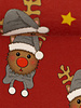 Swafing Rudolf rood - Kerst - french terry