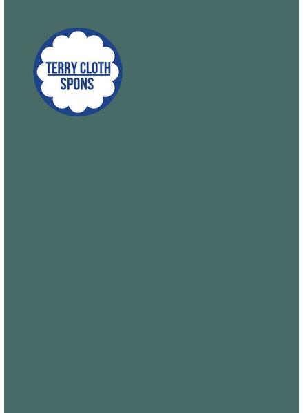 about blue fabrics Solid sponge -  UNI 8 Blue Spruce