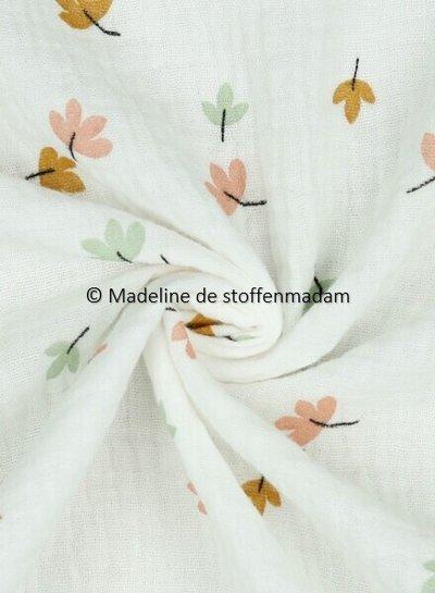 flowers  - double gauze / tetra