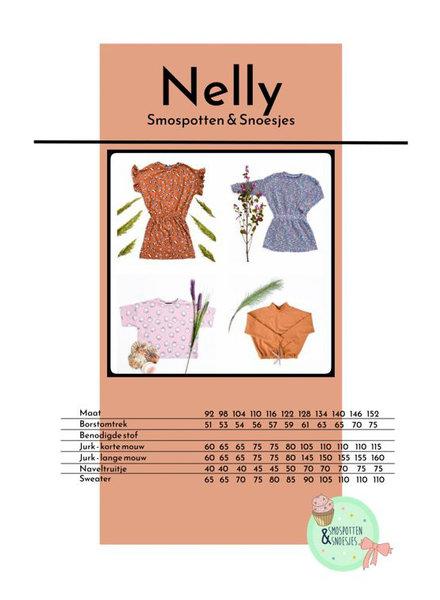 smospotten en snoesjes Nelly t-shirt/trui/jurk