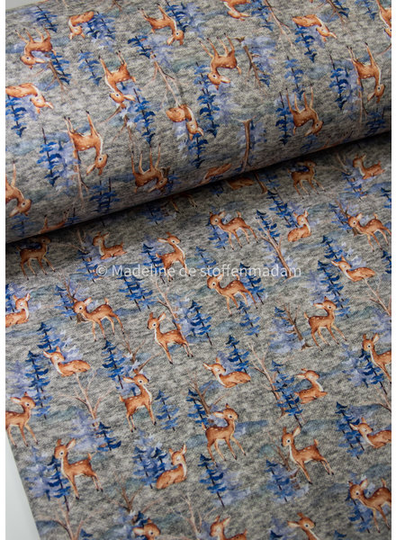 M blue forest - happy fleece / jogging