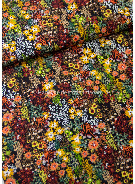 M field bouquet earth colors - soft touch viscose
