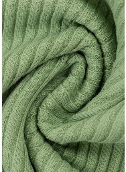 mintgreen - thick ridge ribbing