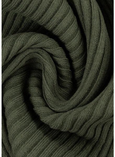 Swafing khaki - extra dikke ribbel boordstof