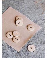 Mind The Maker Dune - curb cotton button  - 18 mm