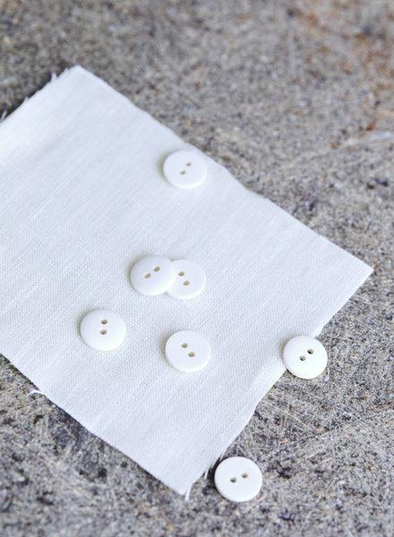 Mind The Maker Crème - curb katoen knoop - 18 mm