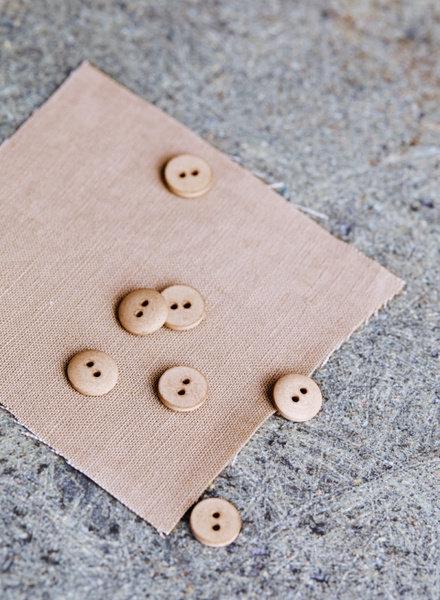 Mind The Maker Dune - curb cotton button  - 11 mm