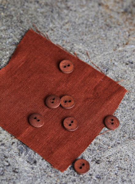 Mind The Maker Sienna- curb cotton button  - 11 mm