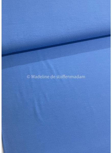 indigo blue - soft viscose jersey