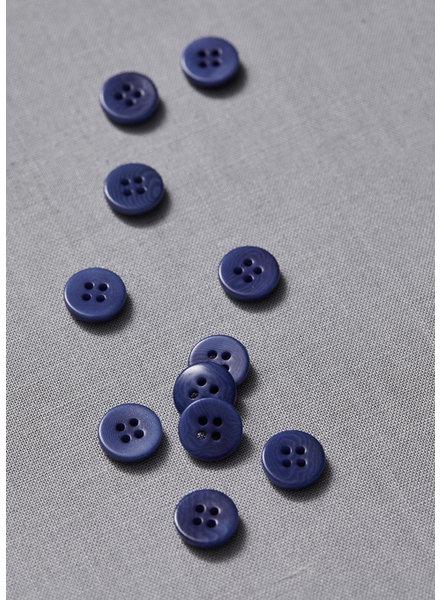 Meet Milk lapis - plain corozo button - 11 mm