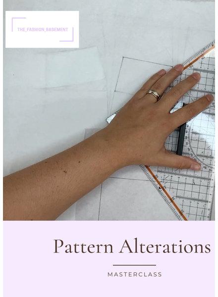 M pattern alterations door The Fashion Basement AV 26/10