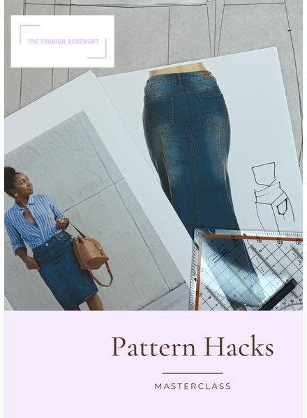 M pattern hacks door The Fashion Basement NM 11/12