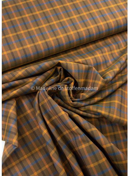 La Maison Victor Dandy broek - ruiten -  soepelvallende stof