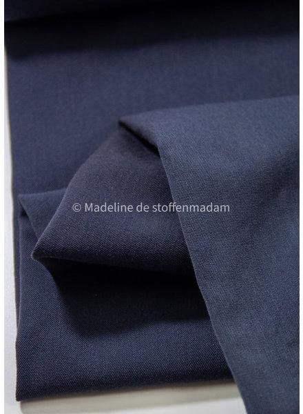 navy -  stretch gabardine twill weave