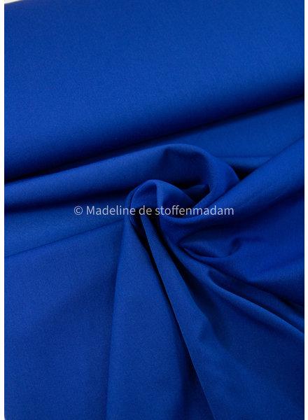 kobalt - soepelvallende  (broeken)stof