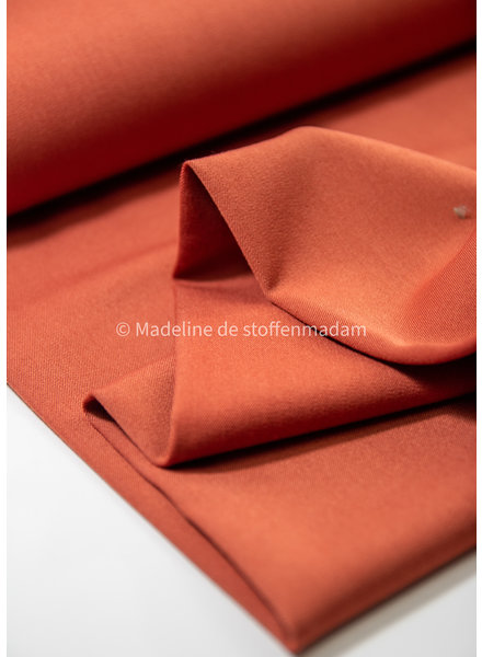 rust - supple fabric (for pants)
