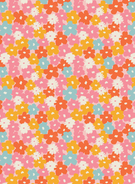 ART GALLERY FABRICS sunburst flowers - cotton