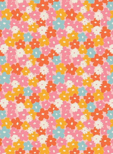 ART GALLERY FABRICS sunburst flowers - katoentje